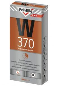 Polyfilla Pro W370 Sneldrogende houtreparatiepasta 2K